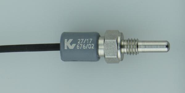 NTC Einschraubfühler mit umspritztem Kabelübergang