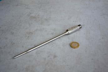 mit Edelstahl umhüllter Messumformer 4-20 mA integriert in Pt100 Mantelfühler (mineralisolierte Mantelleitung)