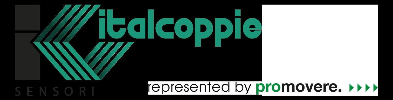 Logo von Italcoppie, einem renommierten Hersteller von Temperatur-Messumformern