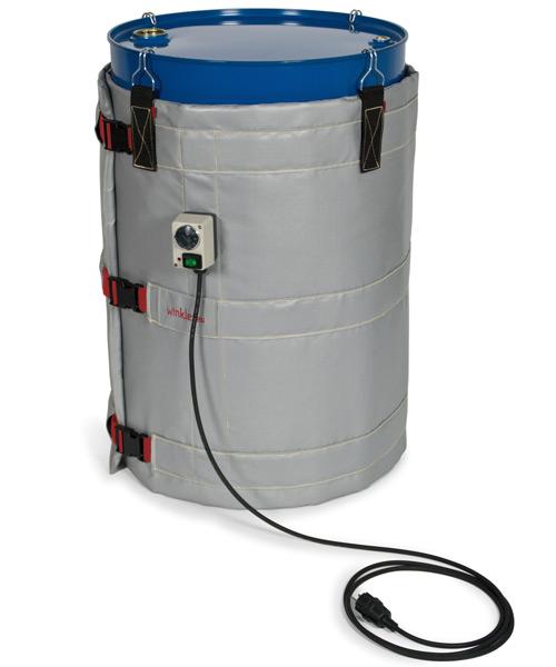Robuste und sichere Fassheizung bis 200 °C von der Winkler AG