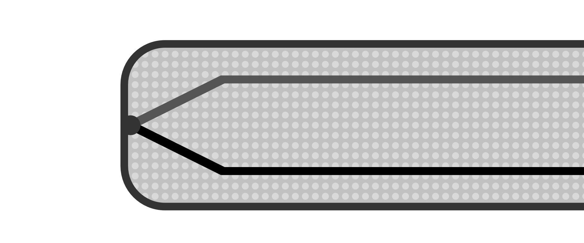 Mantelthermoelement mit geerdeter Messstelle und Magnesiumoxid-Isolierung